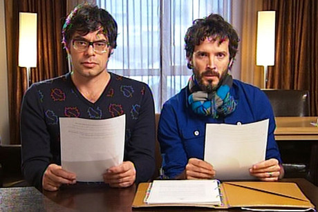 Flight of the Conchords stars Jemaine Clement and Bret McKenzie