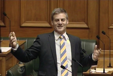 Bill English in Parliament
