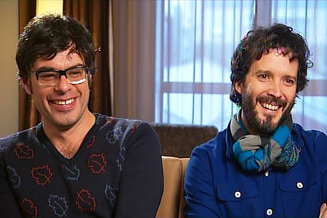 Jemaine Clement and Bret McKenzie
