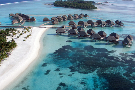 The lagoon suites at Club Med Kani, Maldives (AAP)