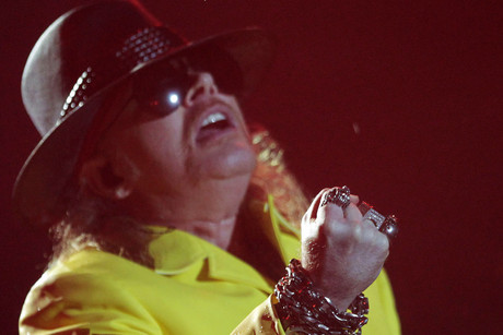 Axl Rose (Reuters)