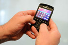 BlackBerry phone with a keyboard (AAP)
