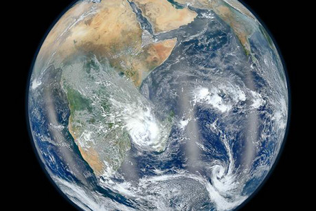 Planet Earth shown from space  (Photo: Reuters)