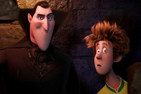 Still from Hotel Transylvania