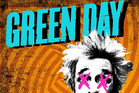 Green Day's &#161;DOS! cover art