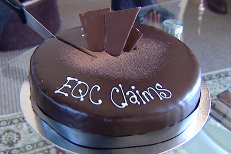 The EQC claims cake