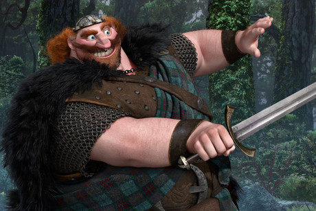 King Fergus - Billy Connolly's character in Brave