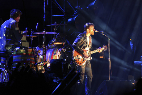 The Black Keys performing at Coachella Music Festival