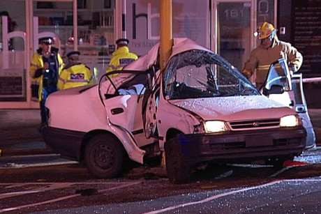 A crash on Auckland's North Shore has left one dead