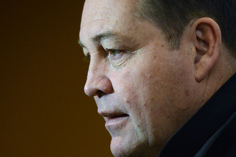 All Blacks coach Steve Hansen (Photosport)