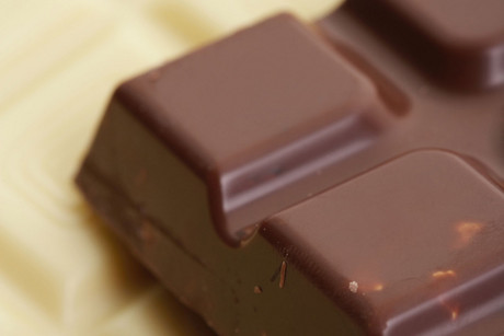 A woman discovered a chunk of glass in a chocolate bar over the weekend (file)