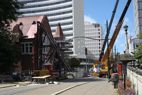 The Christchurch rebuild has sparked the local economy (file)