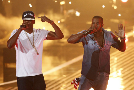 Jay-Z and Kanye West (AAP)
