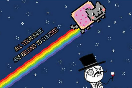 LulzSec image uploaded to the internet