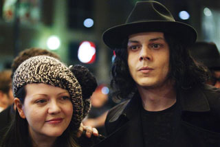 Meg and Jack White of the White Stripes (Reuters)