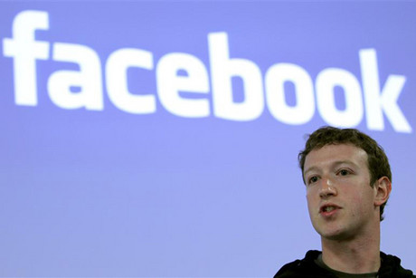 The Facebook.com email address allows users to communicate with outside email addresses via Facebook (Reuters)