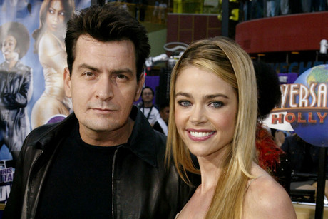 Charlie Sheen and Denise Richards in 2002 (Reuters)