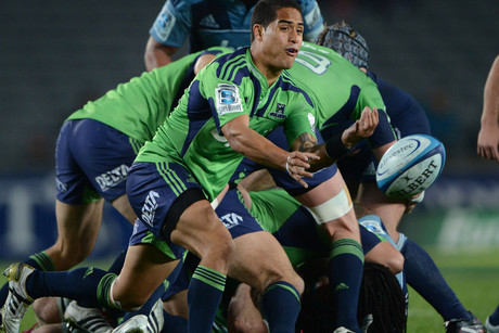 Aaron Smith will be pivotal at halfback if the Highlanders are to upset the Chiefs (Photosport file)