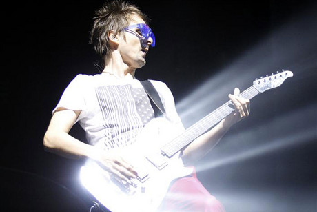 Muse frontman Matt Bellamy (Reuters)
