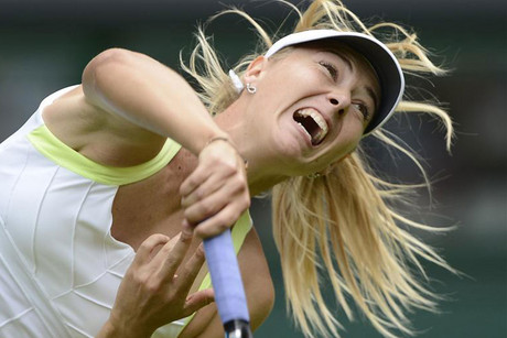 Maria Sharapova is one of the loudest grunters in the game (Reuters file)