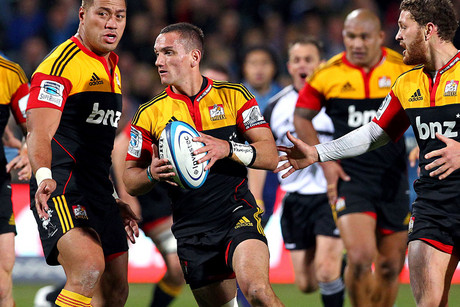 Aaron Cruden looks to be over his injury that forced him from the field against the Irish (Photosport file)