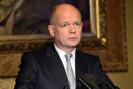 British Foreign Minister William Hague (AAP)