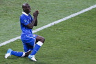 Italy and Mario Balotelli may have to rely on a few prayers if they are to beat a red-hot Germany side (Reuters file)