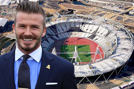 David Beckham has missed out on Olympic selection (file pic)