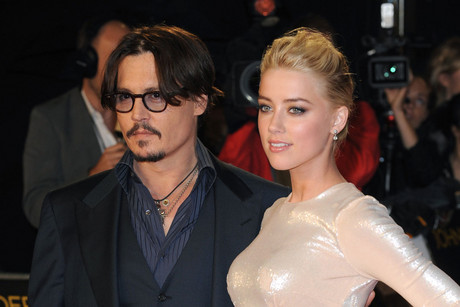 Johnny Depp and Amber Heard (AAP)