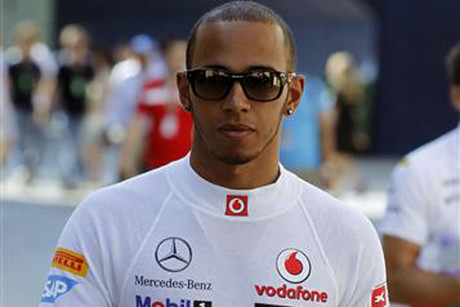 McLaren's Lewis Hamilton