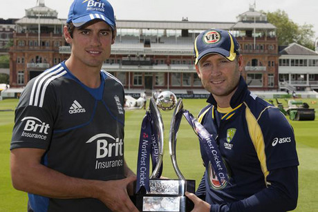 Captain fantastic - Alastair Cook and Michael Clarke
