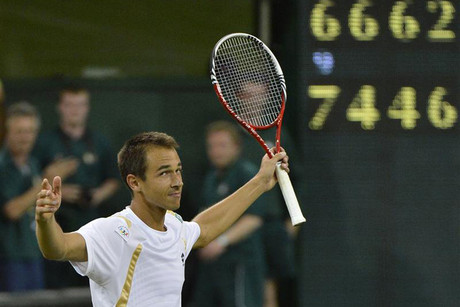 Czech Lukas Rosol can't quite believe it (Reuters)