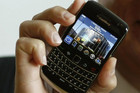 BlackBerry phone (Reuters)