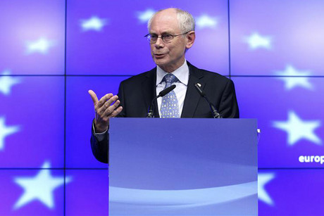European Council President Herman Van Rompuy (Reuters)