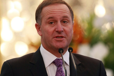 John Key says Mr English was right to ask questions about young beneficiaries not taking jobs because they're on drugs (AAP)