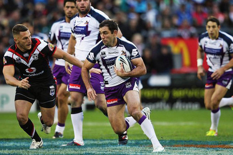 Cameron Smith goes for a dart (Getty)