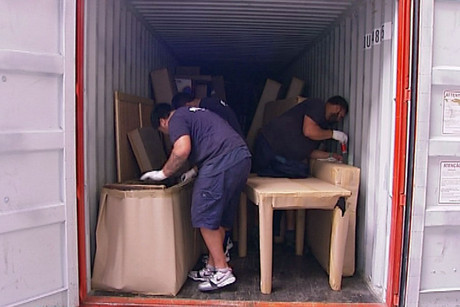 In the past three years, around 50 percent of international furniture removal consignments were inspected
