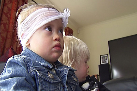Taya, Dylan and Molly are friends, all with Down syndrome, born with an extra 21st chromosome