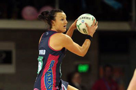 Bianca Chatfield of the Melbourne Vixens (File pic)