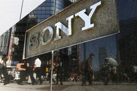 Sony stock peaked at 16,950 yen in March 2000 (file pic)