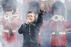 Robbie Williams rocks the royal crowd (Reuters)