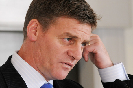 Acting Prime Minister Bill English (file)