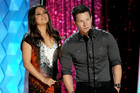 Mark Wahlberg and Mila Kunis at the MTV Movie Awards (Getty)