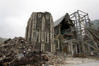The ruins of the Christchurch Cathedral (Reuters)