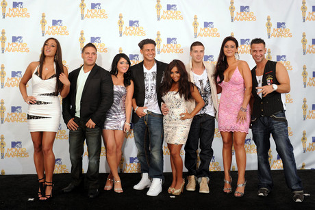 The cast of Jersey Shore (Getty)