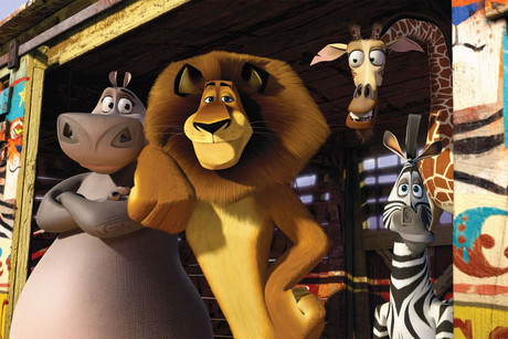 Still from Madagascar 3: Europe's Most Wanted
