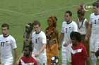 The All Whites played New Caledonia in the Solomon Islands