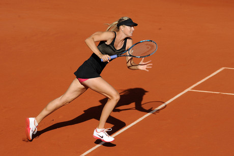 Maria Sharapova in action  (Photo: Photosport)