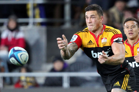 Chiefs' Sonny Bill Williams (Photosport)