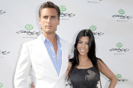 Kourtney Kardashian and Scott Disick (WENN.com)